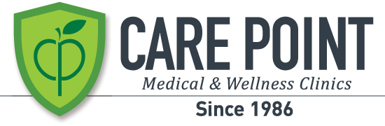 Care Point Medical & Wellness Clinics Retina Logo